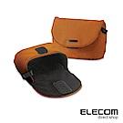 ELECOM normas絨布內裡相機收納包-橘