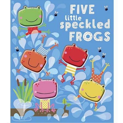 Five Little Speckled Frogs 五隻斑點青蛙趣味數數書