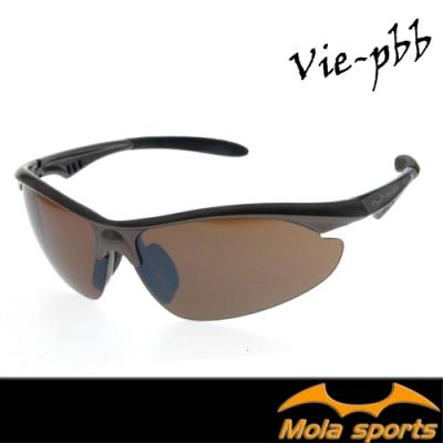 MOLA 摩拉運動太陽眼鏡墨鏡 UV400 一般臉型 騎行 馬拉松 高爾夫 跑步 棒球 Vie-pbb
