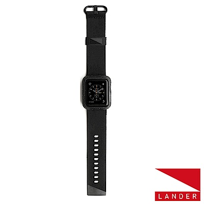 美國 Lander AppleWatch Series 4 40mm Moab錶殼錶帶-黑