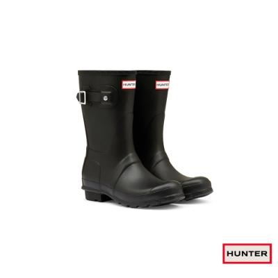 HUNTER - 女鞋 - Original霧面短靴 - 黑