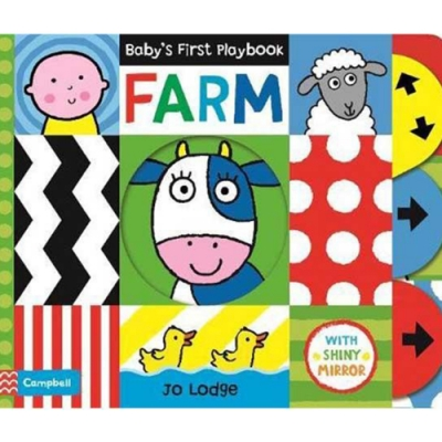 Baby s First Playbook:Farm 寶寶的第一本遊戲書:農場篇