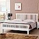 D&T德泰傢俱 ASAIIS白色北歐實木6尺單人床-188x199x100cm product thumbnail 1