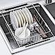AA026 不鏽鋼伸縮式碗盤瀝水架 304不鏽鋼置物架瀝水籃 碗碟收納架 滴水籃滴水架 product thumbnail 1