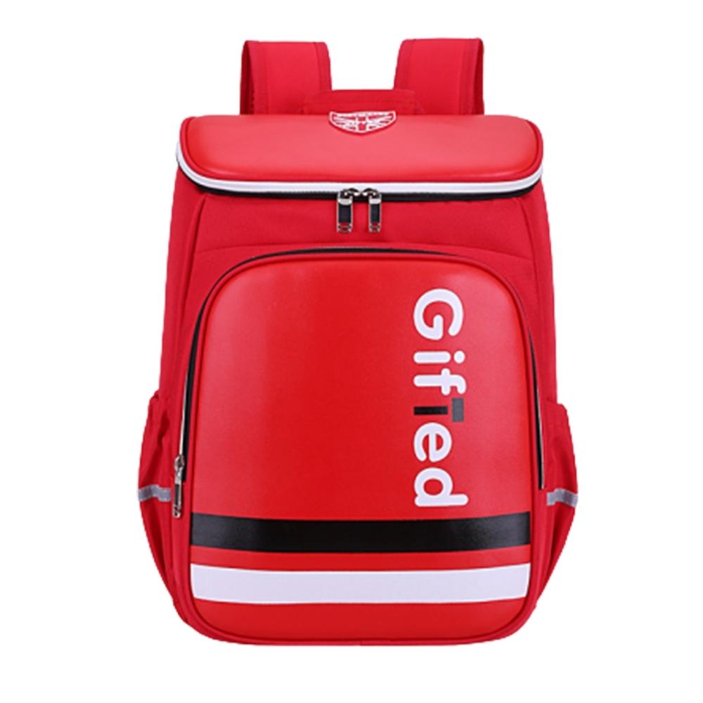 【DF 童趣館】英倫學院風大容量兒童護脊減壓書包後背包-共2色 product image 1
