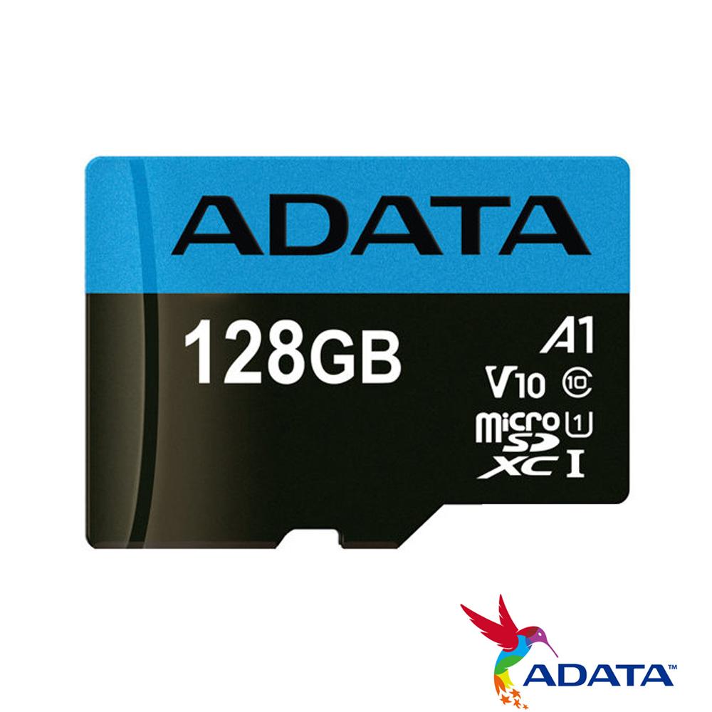 ADATA威剛 128G 100MB/s microSDXC UHS-I V10 記憶卡
