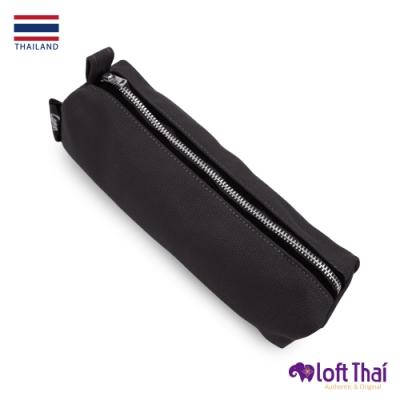 Loft THAI | 泰.筆類小物帆布收納袋 | Black