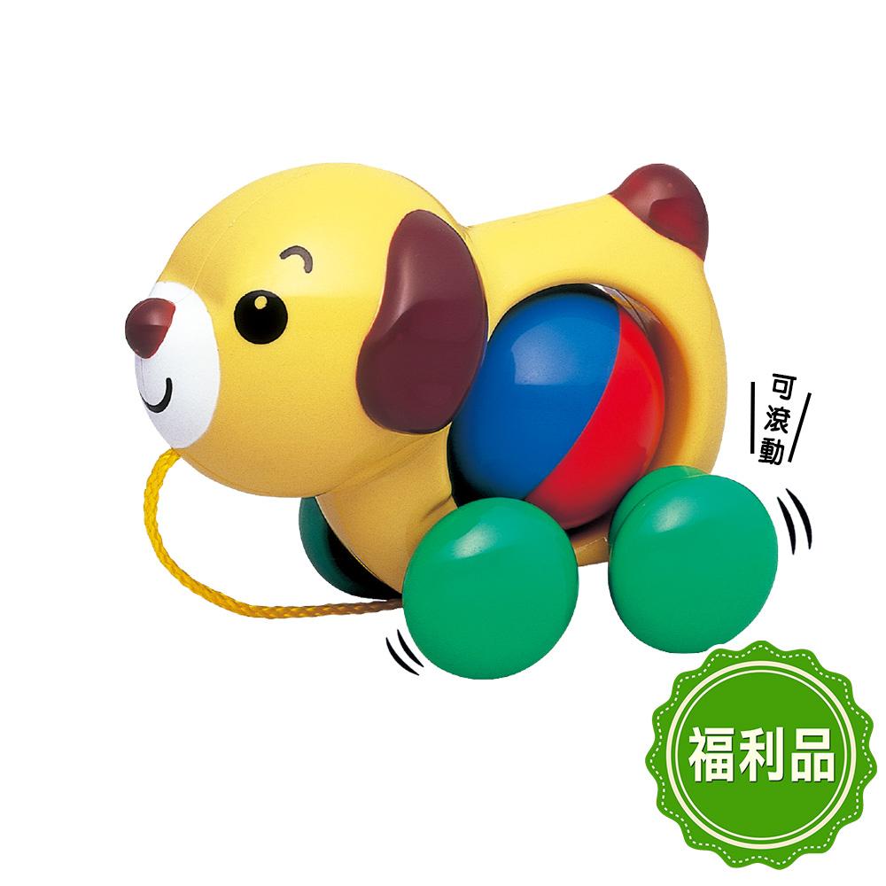 【福利品】日本《樂雅 Toyroyal》手拉小狗