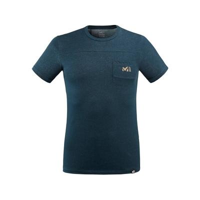 MILLET 男 GRANITE 短袖快排衣 靛藍-MIV86678737