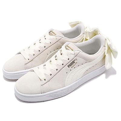 Puma 休閒鞋 Suede Bow 低筒 運動 女鞋