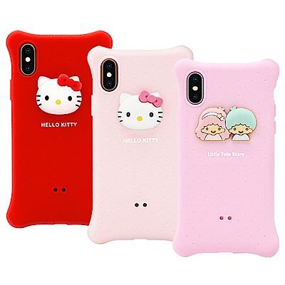 GARMMA Hello Kitty iPhone XR 四角氣囊果凍套