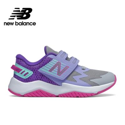 【New Balance】童鞋_中性_灰色_PTRAVBL1-W楦(RAV輕量跑鞋)