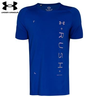 【UNDER ARMOUR】男 Rush短T-Shirt