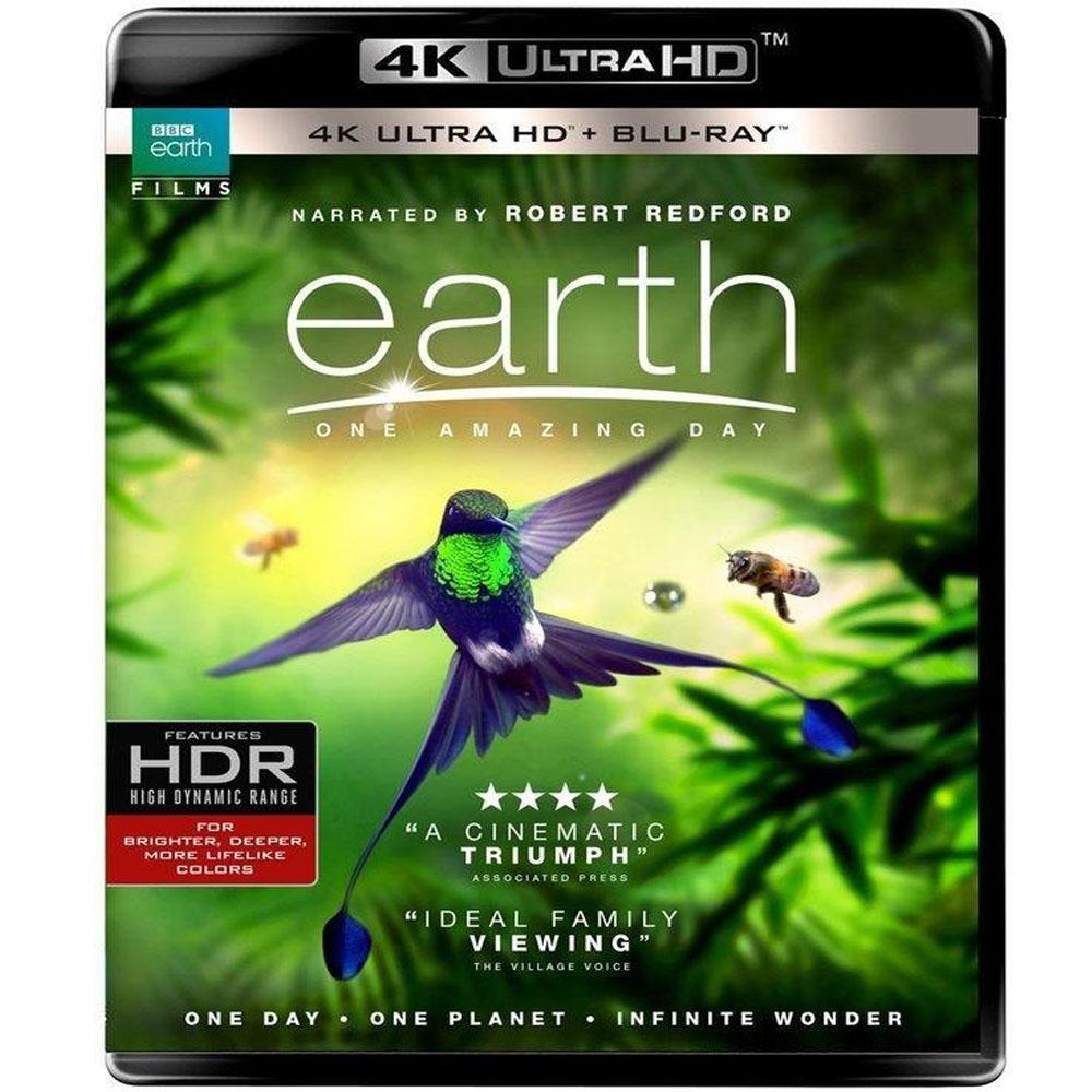 BBC 地球 奇蹟的一天 4K UHD + BD 雙碟限定版