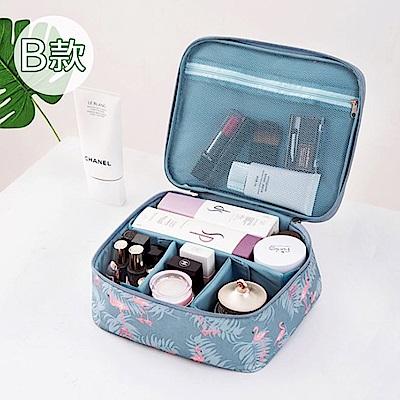 【暢貨出清】JIDA 300D小清新加厚防震防潑水旅行化妝收納包/B款(4色)
