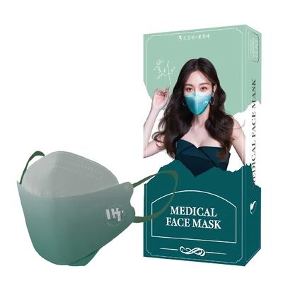 久富餘 KF94韓版4層立體醫療口罩-曾莞婷聯名款-清新莞約 (10片/盒)
