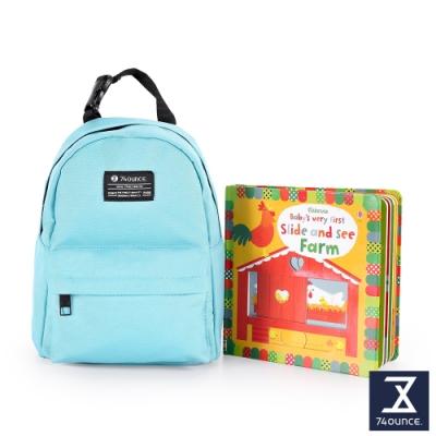 74盎司 Kid兒童後背包[K-033]晴空藍
