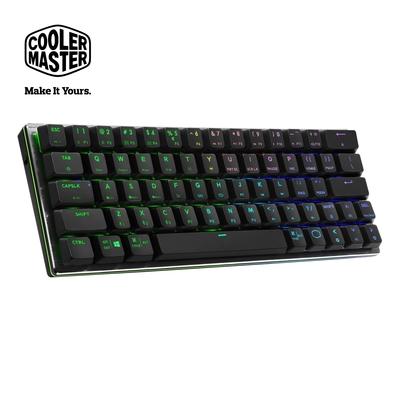 Cooler Master SK622 藍芽矮軸RGB機械式鍵盤 黑色茶軸(英刻)