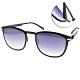 VYCOZ太陽眼鏡 薄鋼 簡約百搭款 /黑-漸層藍 #MARK BLK-B product thumbnail 1