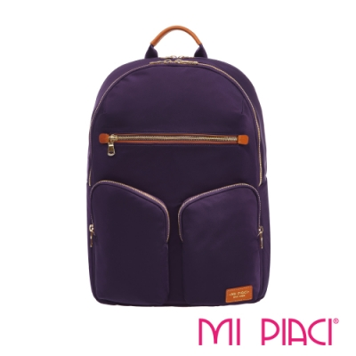 MI PIACI-Tanya系列電腦後背包-紫色1880917