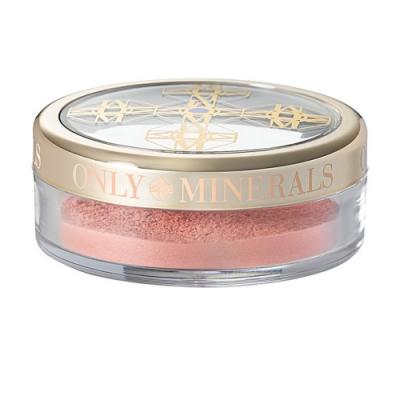 Only Minerals腮紅-杏桃色、蜜桃粉、櫻花粉、玫瑰紅