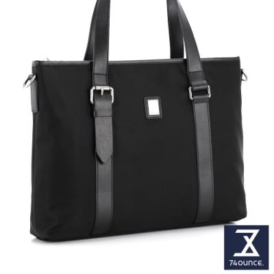 74盎司 Presence 配皮設計托特包[G-1047]黑