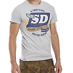 SUPERDRY 極度乾燥 男 T恤 灰色 0833
