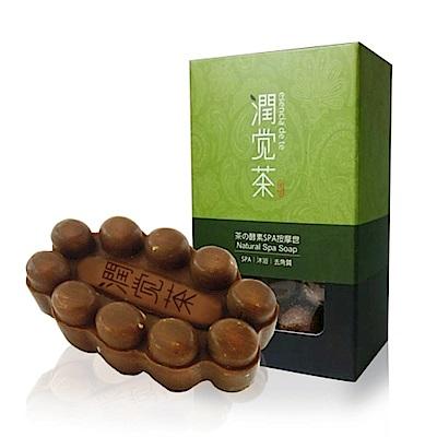 茶寶 茶籽綠豆薏仁潔顏皂+茶の酵素SPA按摩皂(共10個)