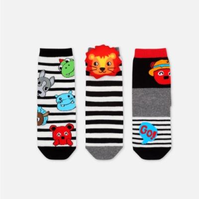 WHY AND 1/2 三隻一組短襪 多色可選
