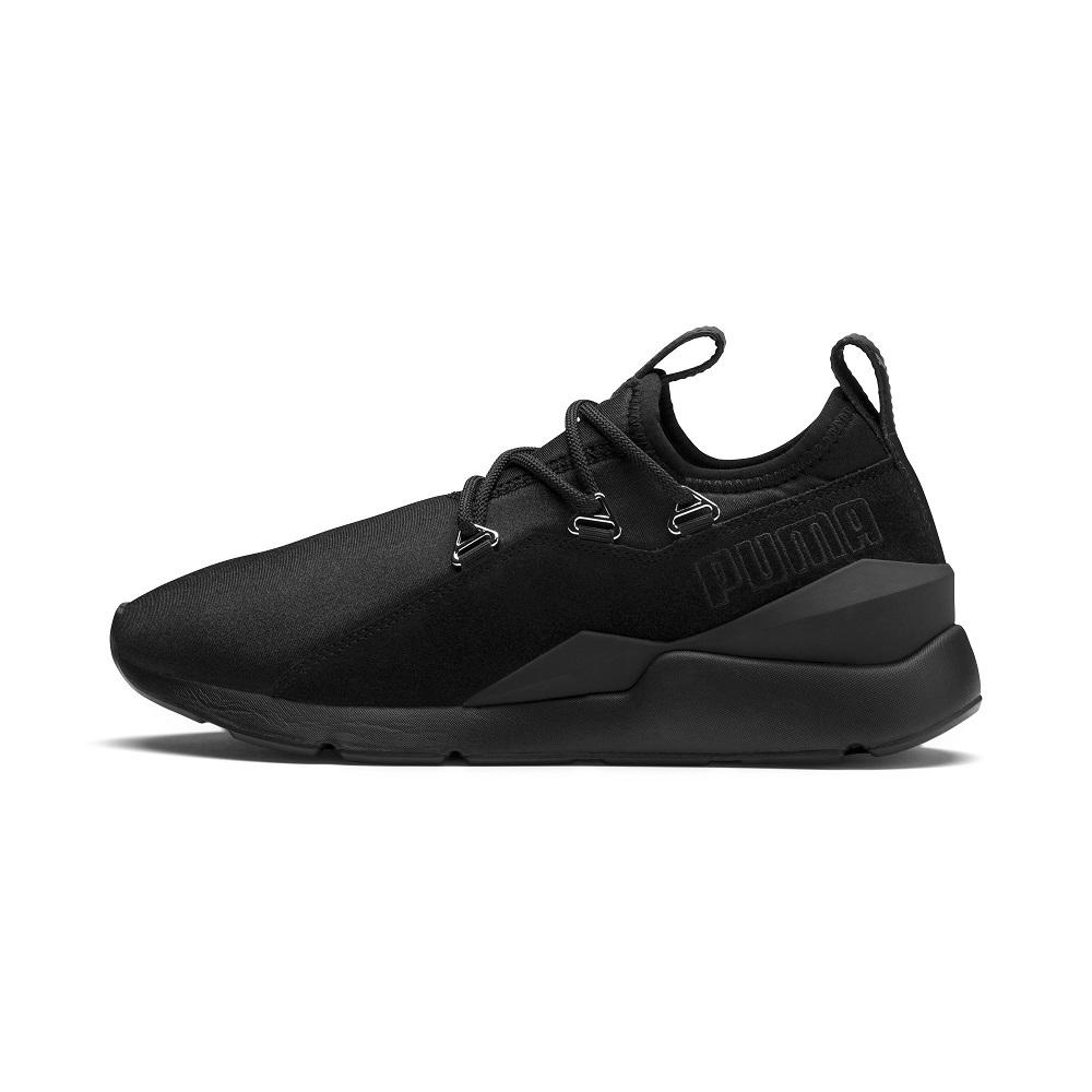 PUMA-Muse 2 Wn s 女性復古休閒鞋-黑色
