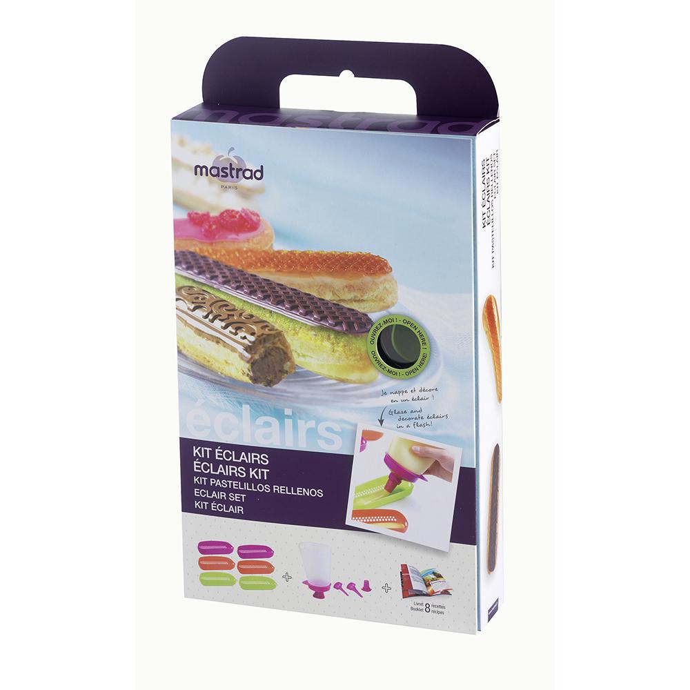 法國mastrad 6入閃電泡芙烤模禮盒組