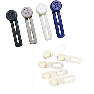 金德恩 台灣製造 襯衫 褲頭鈕釦延長器 (各1包)