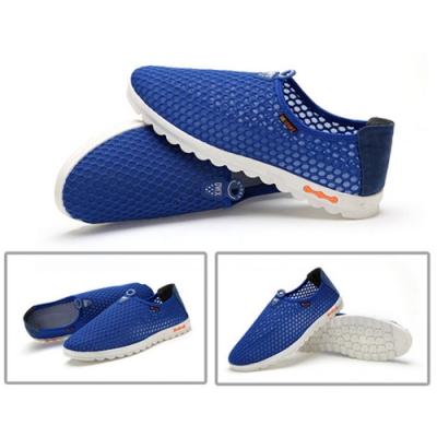 韓國KW美鞋館 (現貨+預購)男女款夏日必備全素運動鞋-深藍