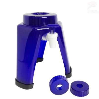 金德恩 台灣專利製造 簡易飲水架4L-8L附2種瓶蓋/適用各大廠牌保特瓶