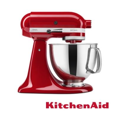 KitchenAid 桌上型攪拌機(抬頭型)5Q(4.8L)經典紅