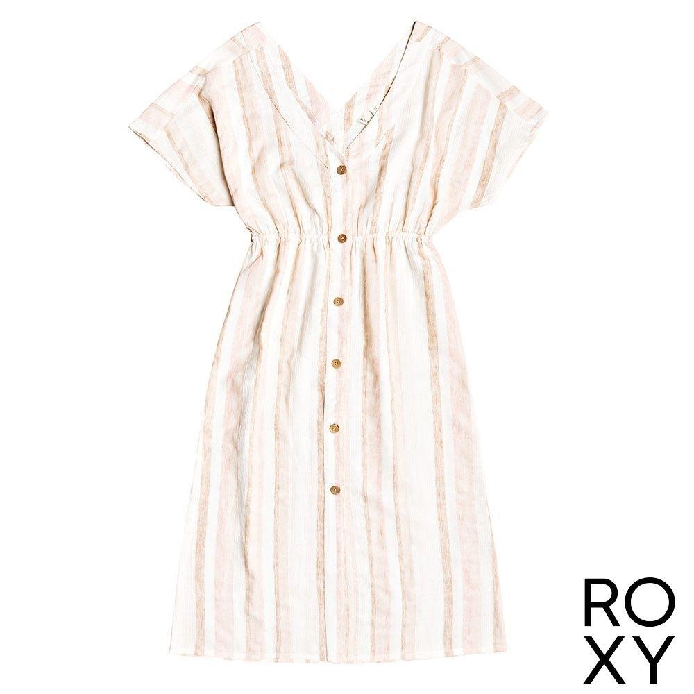 【ROXY】JOYFUL NOISE 洋裝 粉橘
