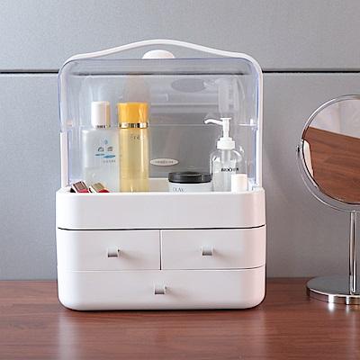 [限時下殺]IDEA-可掀蓋式防潑水化妝品收納盒