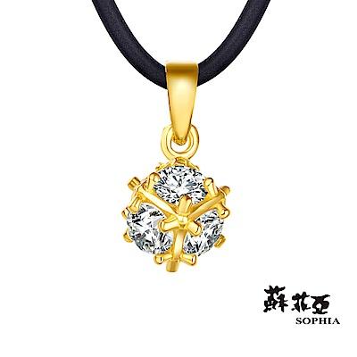 蘇菲亞SOPHIA - GoldShine系列冰雪黃金項鍊