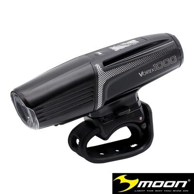 MOON METEOR VORTEX 1000流明6模式IPX5防水 高亮度白光單車前燈