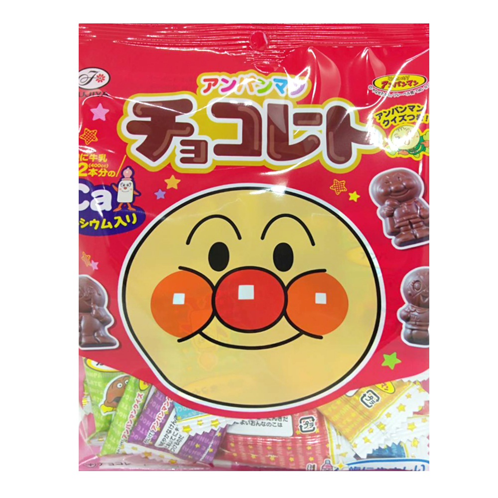 不二家 麵包超人巧克力糖(68g)