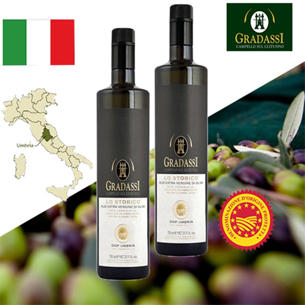 閣大喜 DOP LO STORICO特級冷壓初榨橄欖油750ml 二入特賣