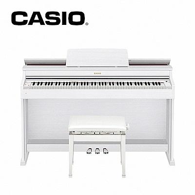 CASIO AP-470 WH 88鍵數位電鋼琴 時尚白色木質款