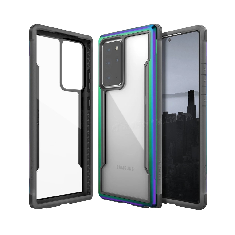 DEFENSE 刀鋒極盾Ⅲ 三星 Samsung Galaxy Note20 Ultra 5G 耐撞擊防摔手機殼(繽紛虹)
