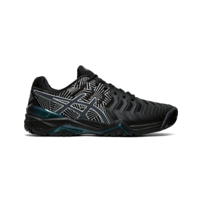 ASICS GEL-RESOLUTION 7 L.E. 網球鞋 男 (黑)