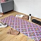 TROMSO 百花圖騰抗菌6mm多功能瑜珈墊-D活力圖騰紫