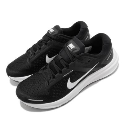 Nike 慢跑鞋 Zoom Structure 23 男鞋 氣墊 避震 路跑 運動 健身 球鞋 黑 白 CZ6720001