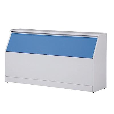 文創集 凱旋環保3.5尺塑鋼單人床頭箱(四色可選)-105x40x85cm-免組