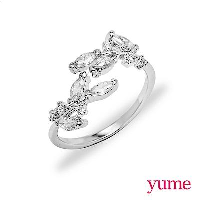 YUME 纖細系列-桂冠之葉戒指
