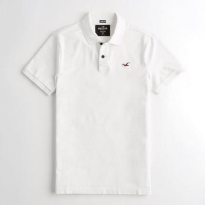 Hollister HCO 短袖 polo 白色 1211