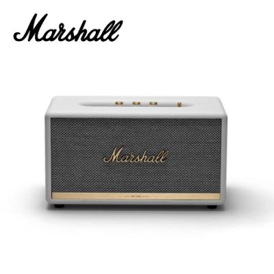 [無卡分期-12期] Marshall Stanmore BT II 藍芽音箱 時尚白色款